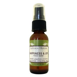 Photo of Leyden House Happiness and Joy floral water, 1oz spray