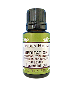 Photo of Leyden House Meditation essential oil blend