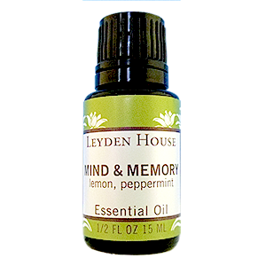 Photo of Leyden House mind and memory essential oil blend