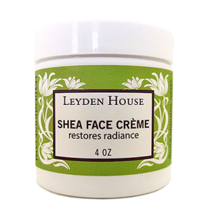 Leyden House Shea face creme, 4 oz