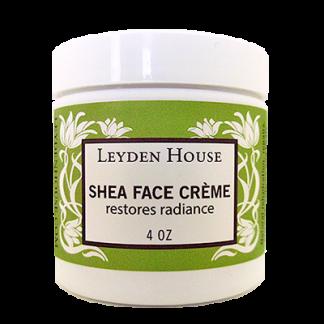 Leyden House Shea face creme, 4 oz