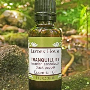Photo of Tranquillity essential oil blend from Leyden House