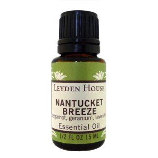 Nantucket Breeze, an essential oil blend containing lavender, bergamot and rose geranium
